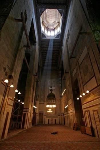 نتيجة بحث الصور عن مسجد الرفاعى من الداخل